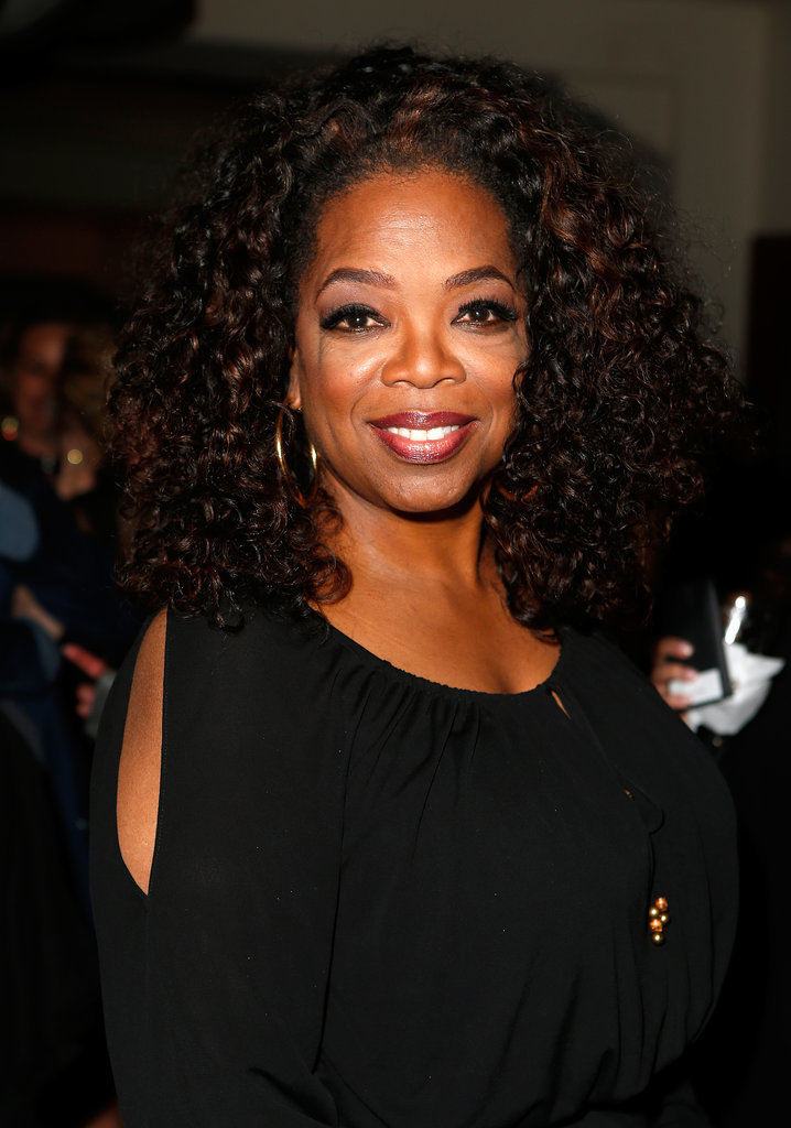 Oprah looked gorgeous during the night's festivities.