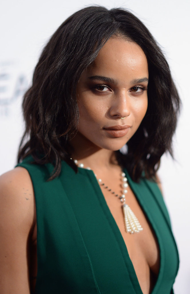 Zoë Kravitz at Vanity Fair DJ Night