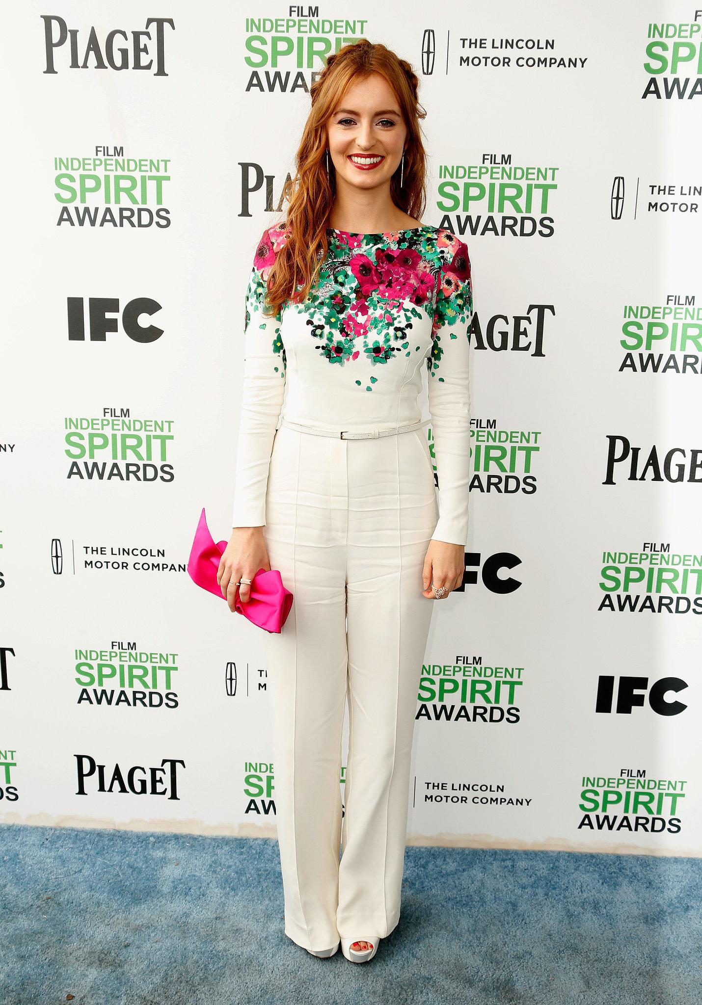 Ahna O'Reilly at the 2014 Spirit Awards