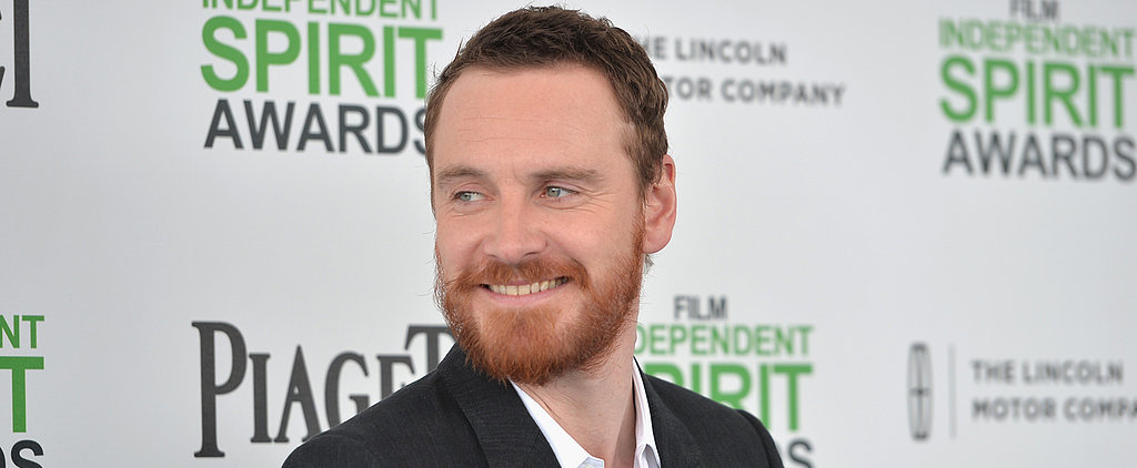 Michael Fassbender Flashes a Winning Smile