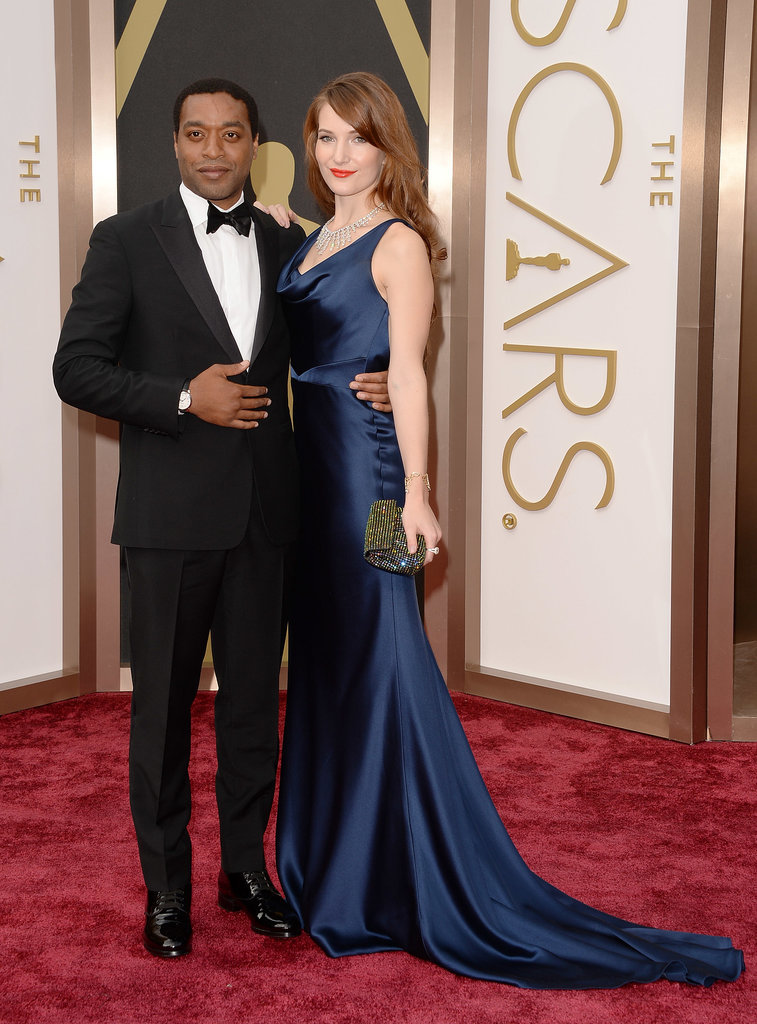 Chiwetel Ejiofor and Sari Mercer made a stunning pair.