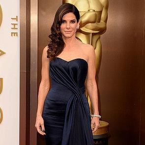Sandra Bullock on the 2014 Oscars Red Carpet