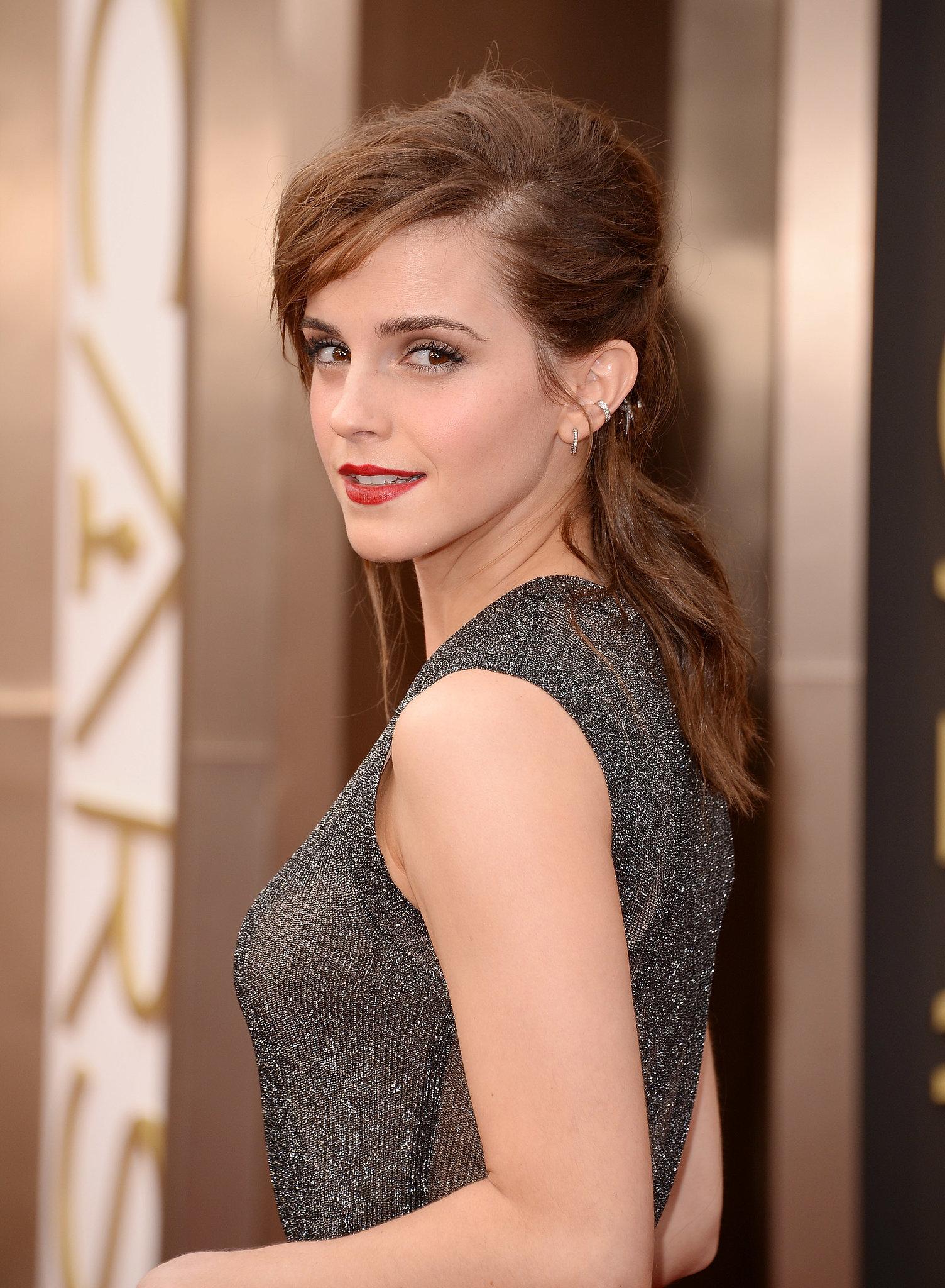 Emma Watson at 2014 Oscars