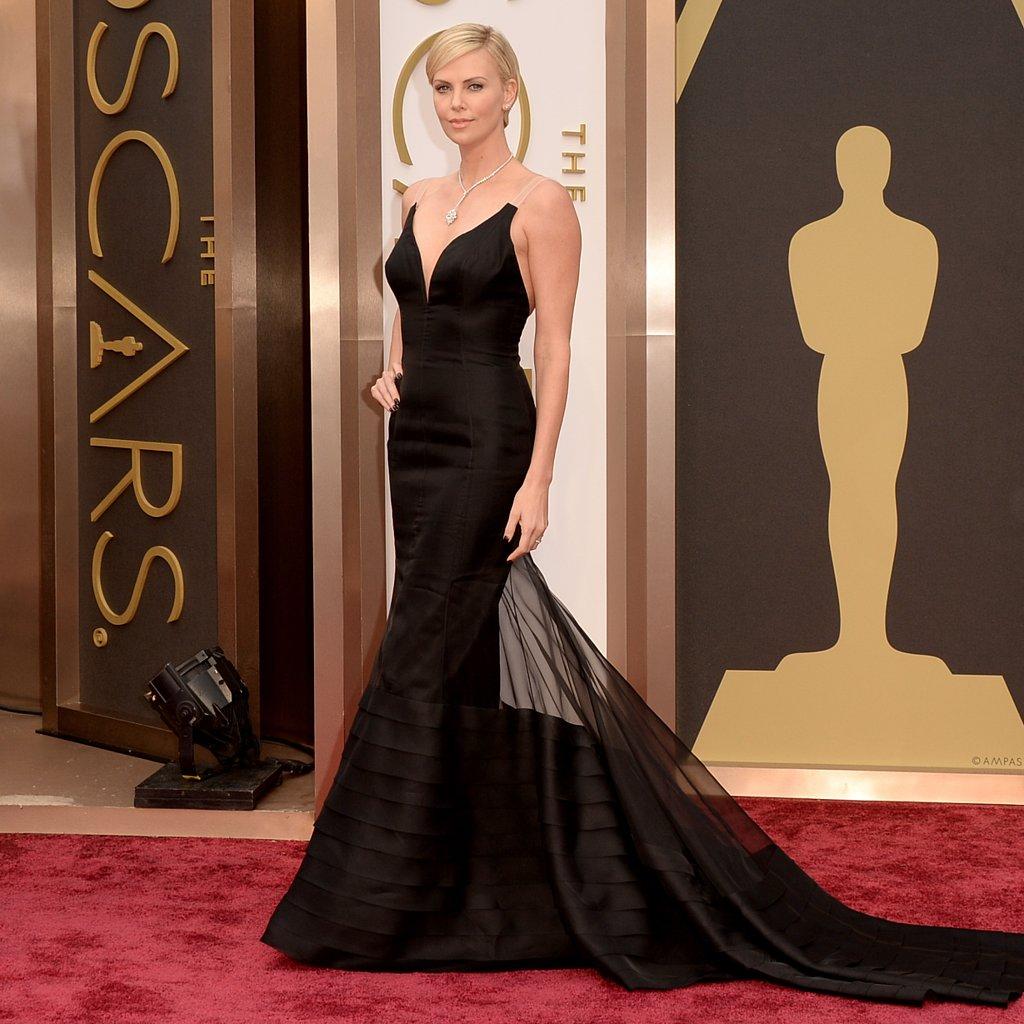 Charlize Theron Dior Dress at Oscars 2014