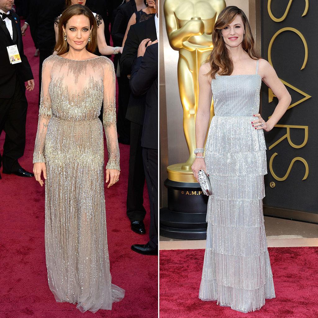 Angelina Jolie and Jennifer Garner