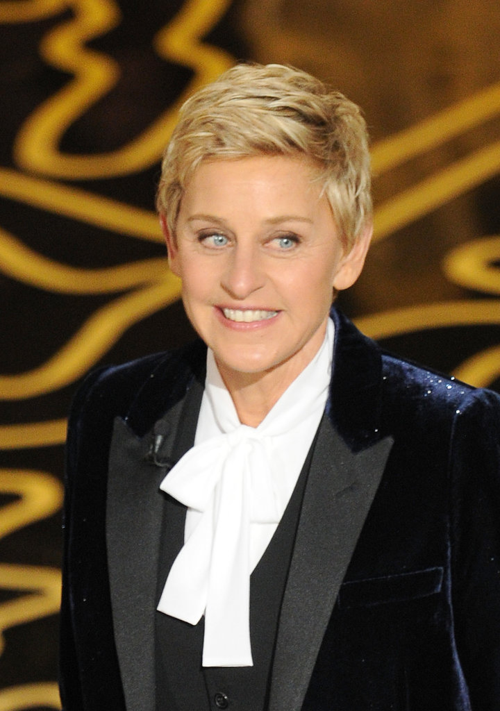 Ellen DeGeneres at 2014 Oscars