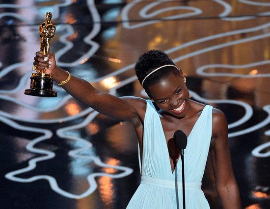 Lupita Nyong'o's Win Pulls on Everyone's Heartstrings