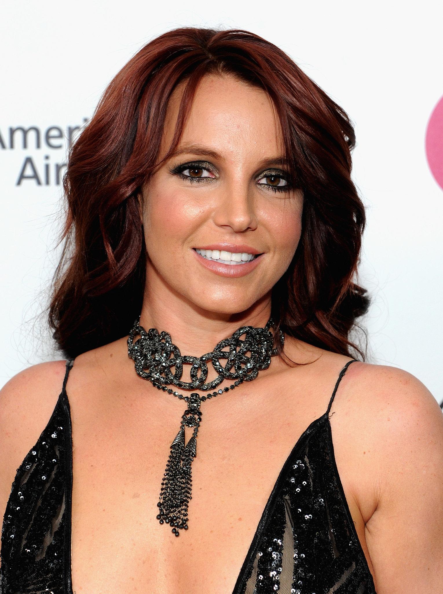 Britney Spears at Elton John Party