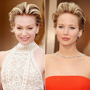 Red Carpet Hair and Makeup Lookalikes at Oscars 2014