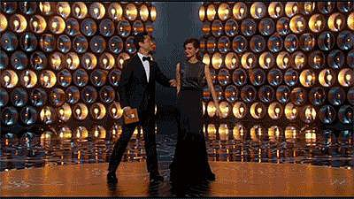 Joseph Gordon-Levitt and Emma Watson Had an Adorable Onstage Moment