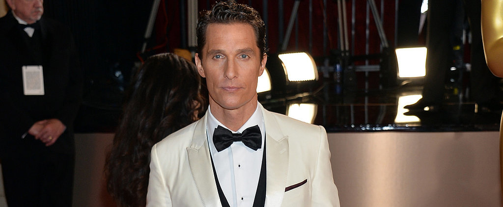 Matthew McConaughey's Trying to Teach His Kids a Lesson About Award Season