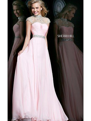 Blush Vintage Long Evening Gown Cheap