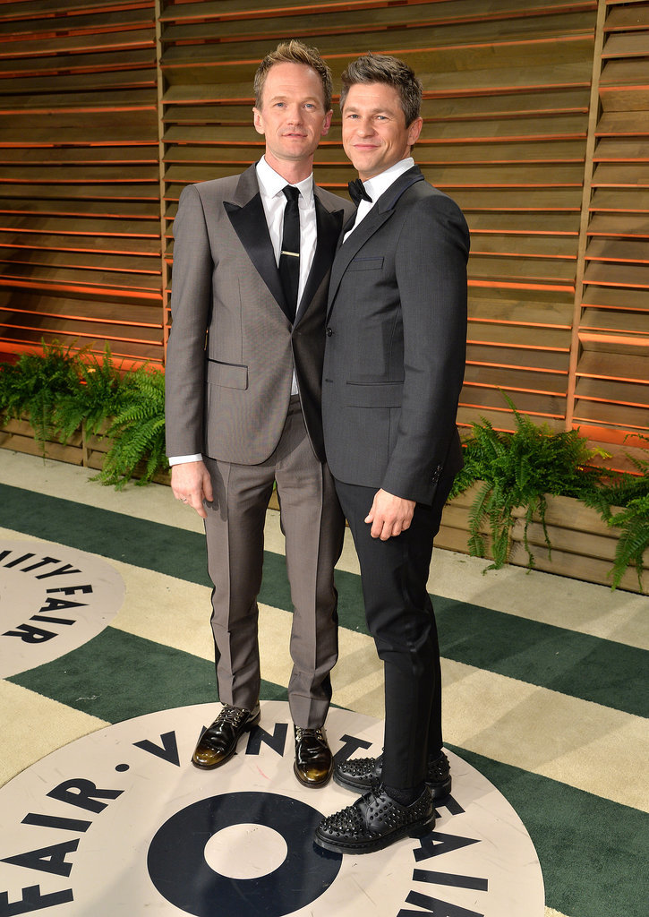 Neil Patrick Harris and his fiancé, David Burtka, posed.
