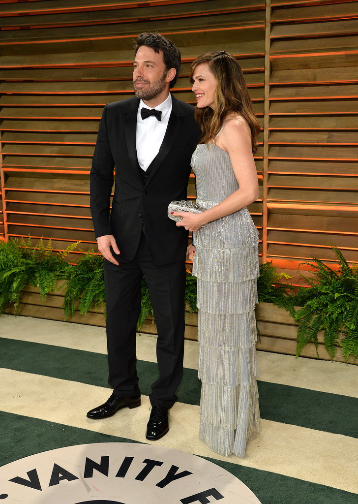 Ben Affleck and Jennifer Garner posed.