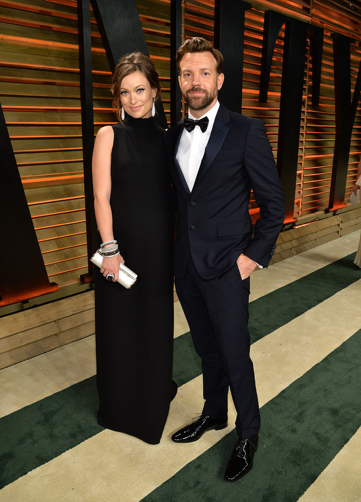 Parents-to-be Olivia Wilde and Jason Sudeikis got cozy.