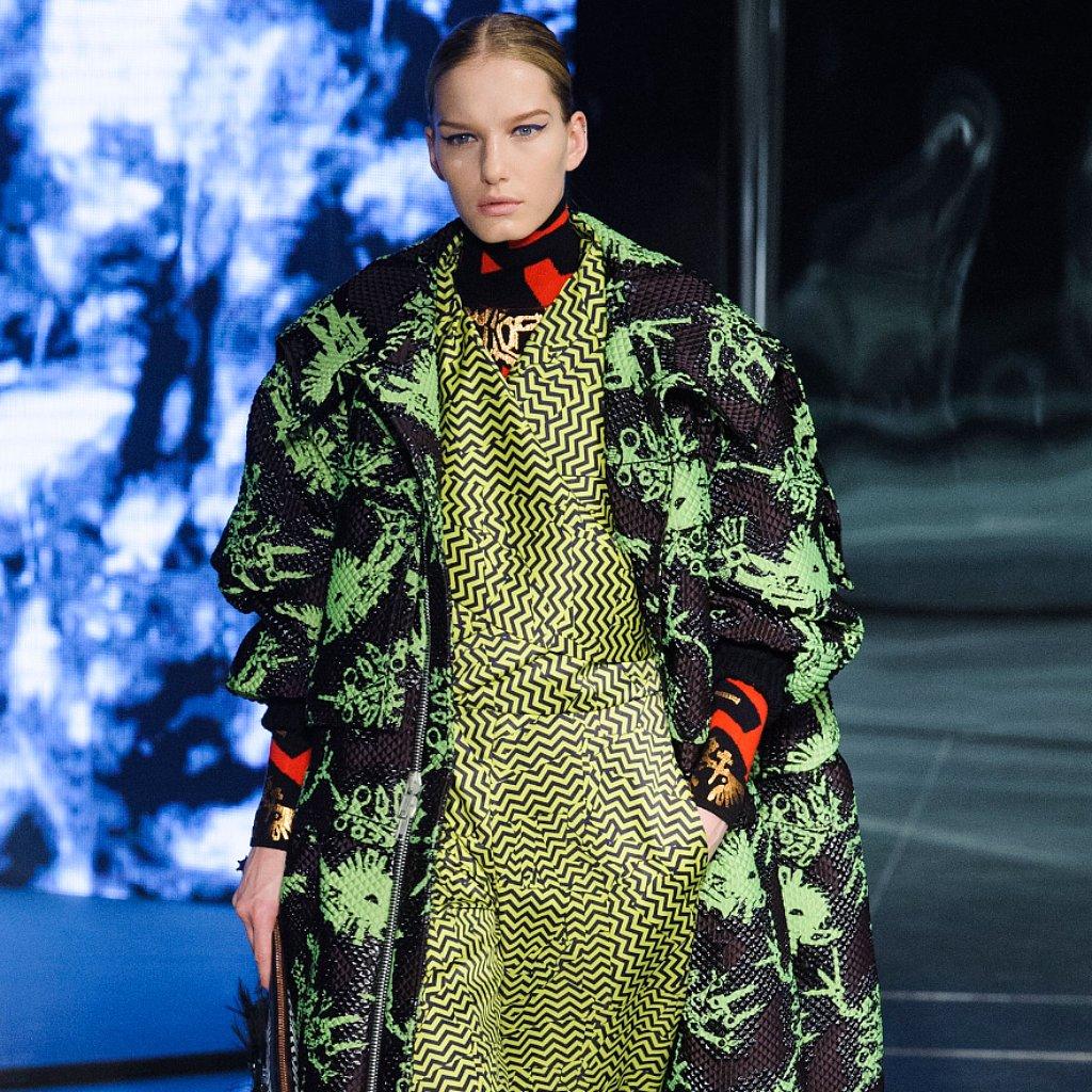 Kenzo Fall 2014 Runway Show   Paris Fashion Week