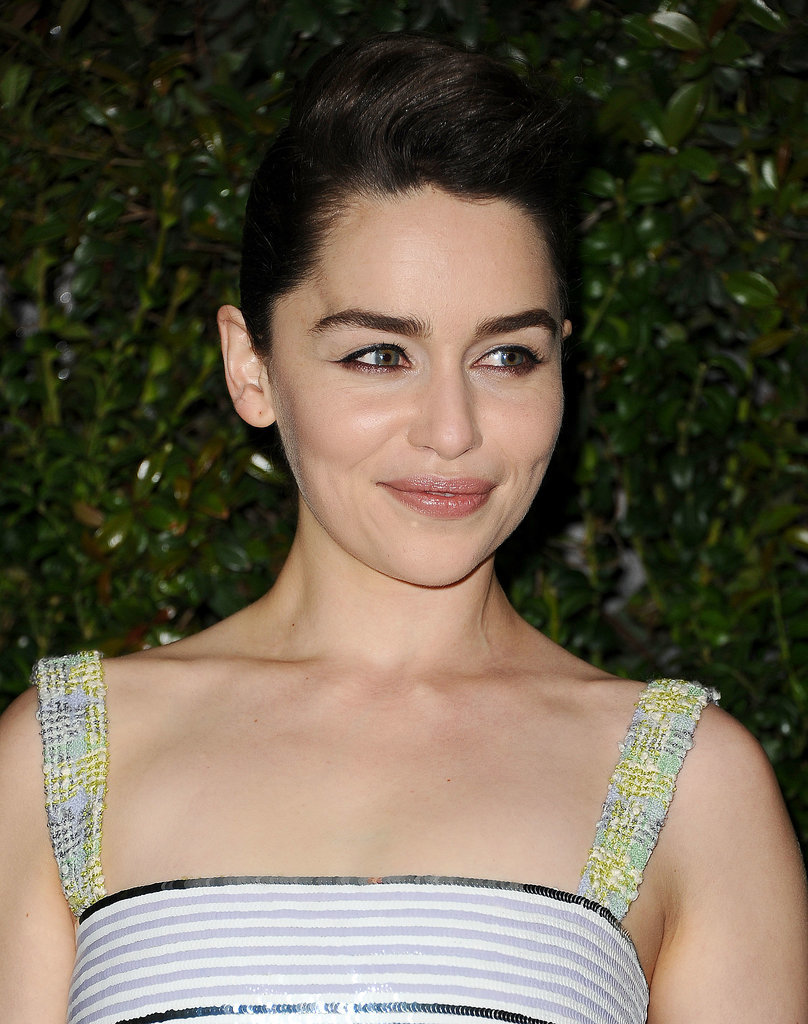 Emilia Clarke at Chanel Pre-Oscars Dinner