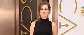 Olivia Wilde Flaunts Her Bump in Valentino on the Oscars Red Carpet
