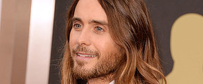 Jared Leto Lets His Hair Down at the Oscars