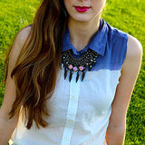 DIY Ombre Button-Up Shirt | Video
