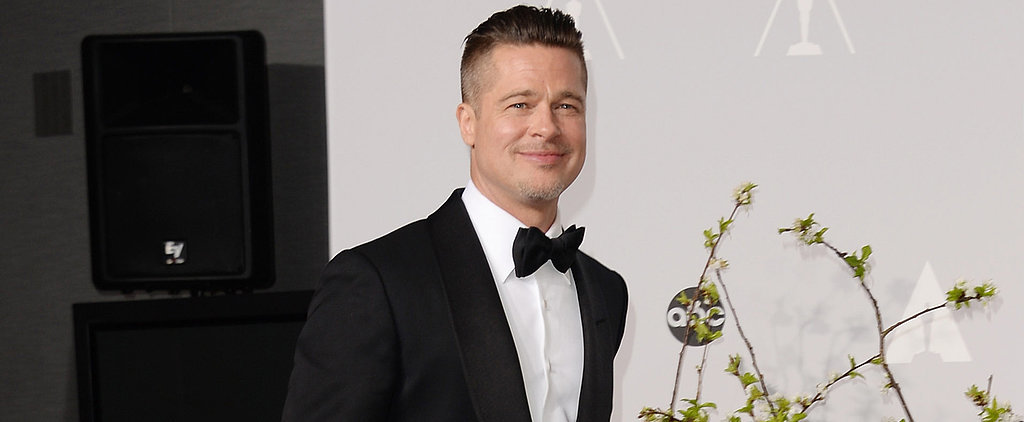 Brad Pitt Picks Up His First Oscar — After Cleaning Up Dog Poop