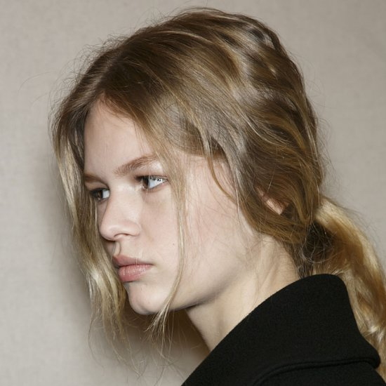 Hair & Makeup at Stella McCartney 2014 Paris Fashion Week