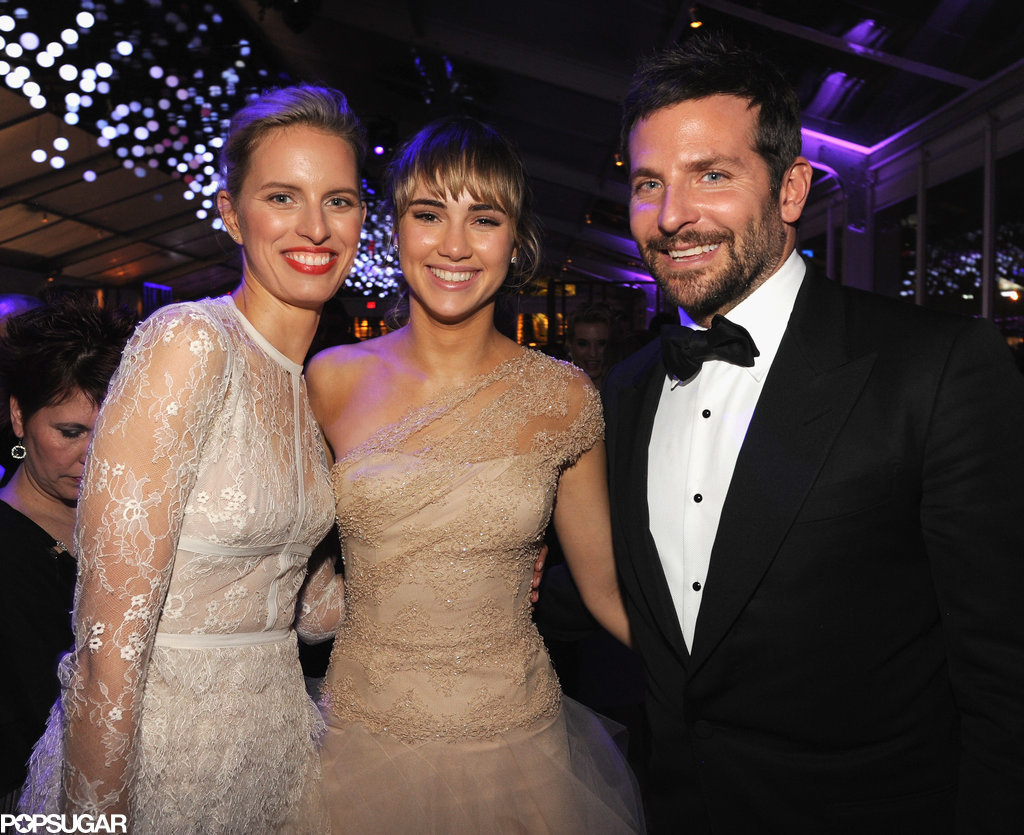 Model Karolina Kurkova posed for a photo with Bradley Cooper and his girlfriend, Suki Waterhouse.