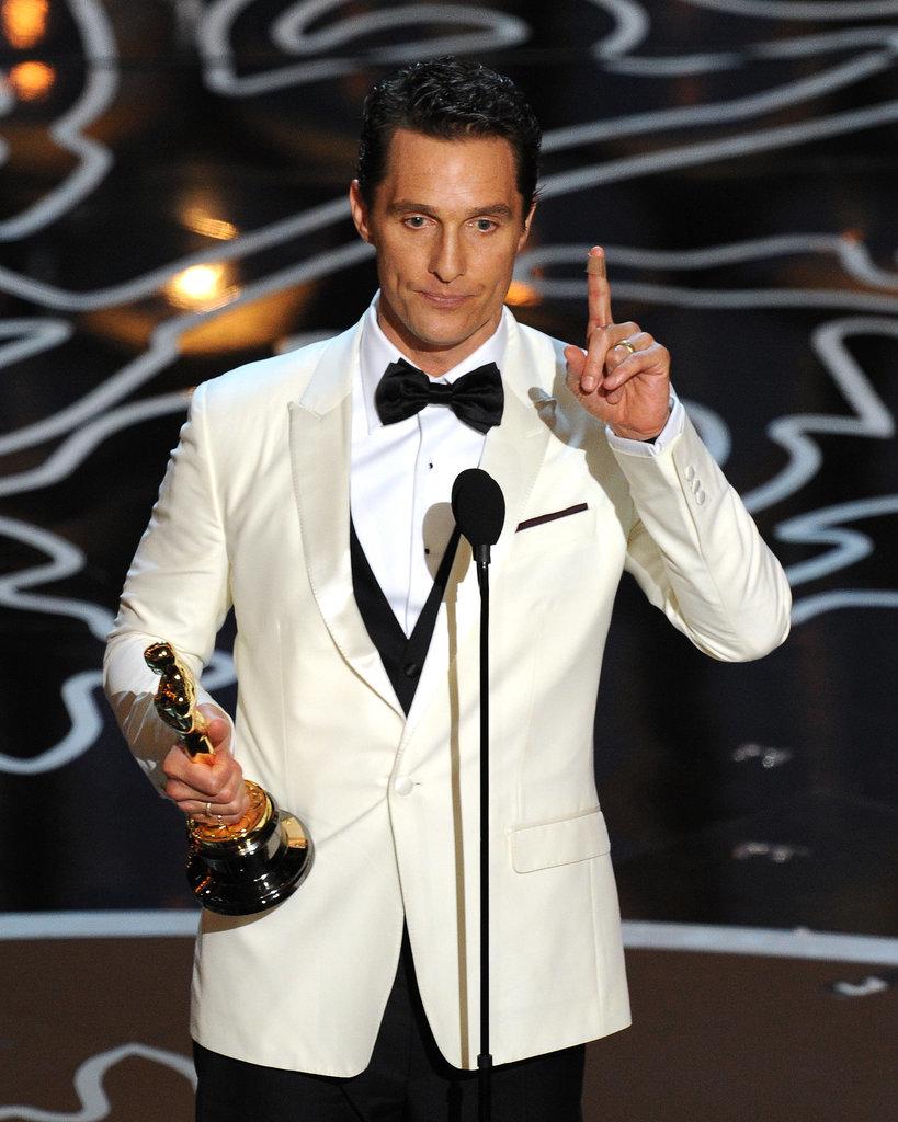 Matthew McConaughey Aw...