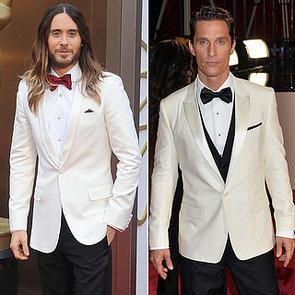 White Tuxedo Jacket Trend at Oscars 2014