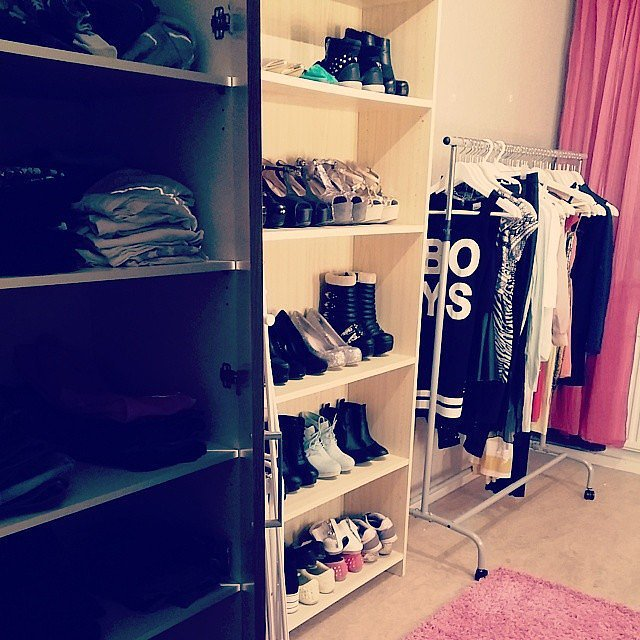 You dont have walk  closet already built make one