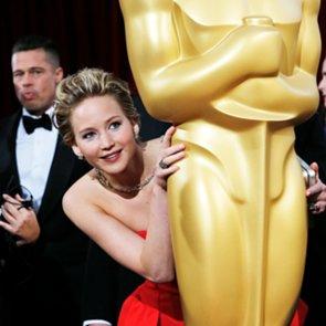 Jennifer Lawrence's Best Award Season Moments 2014