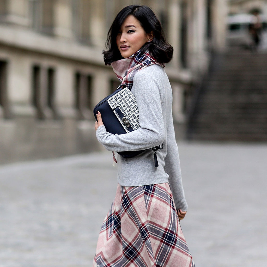 Best Street Style At Paris Fashion Week Fall 2014 Popsugar Fashion