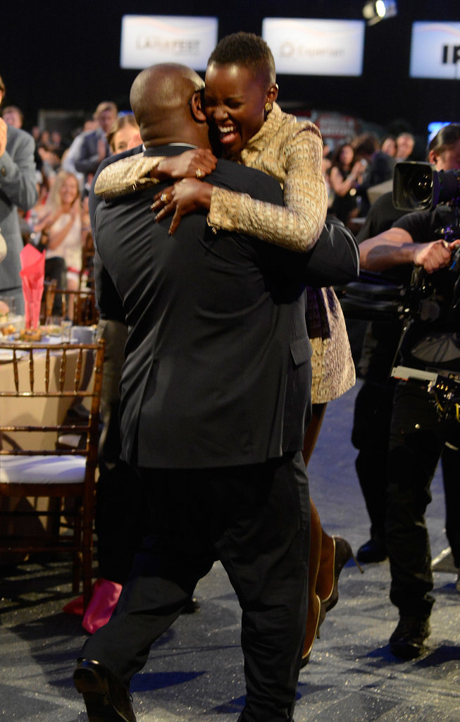 Steve even carried her to stage when she won her Independent Spirit Award!