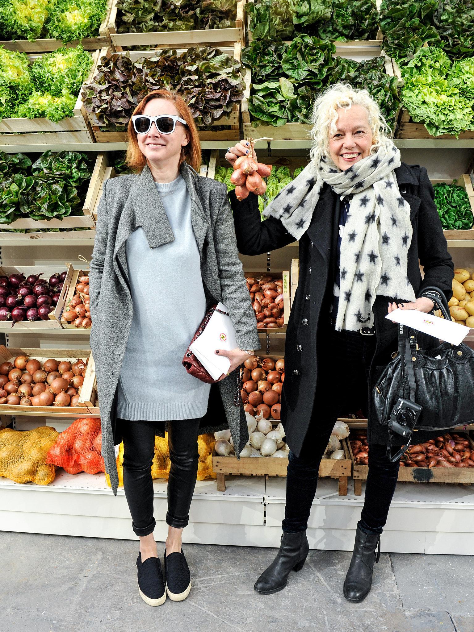 Anne Christensen and Ellen von Unwerth