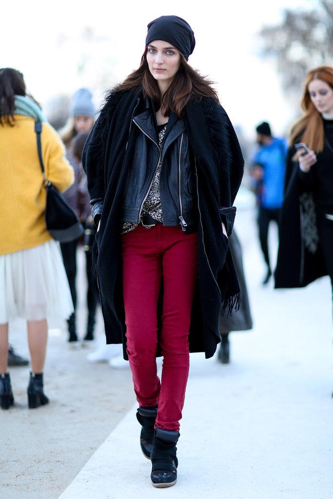 PFW Model Street Style Day Four