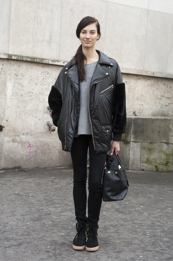 PFW Model Street Style Day Seven