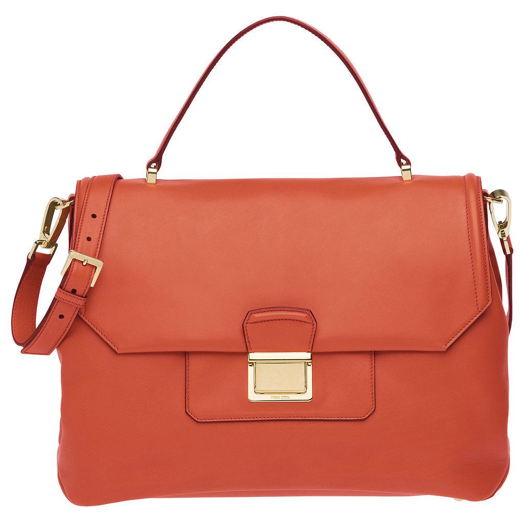 Miu Miu top-handle bag ($2,350) Photo courtesy of Miu Miu