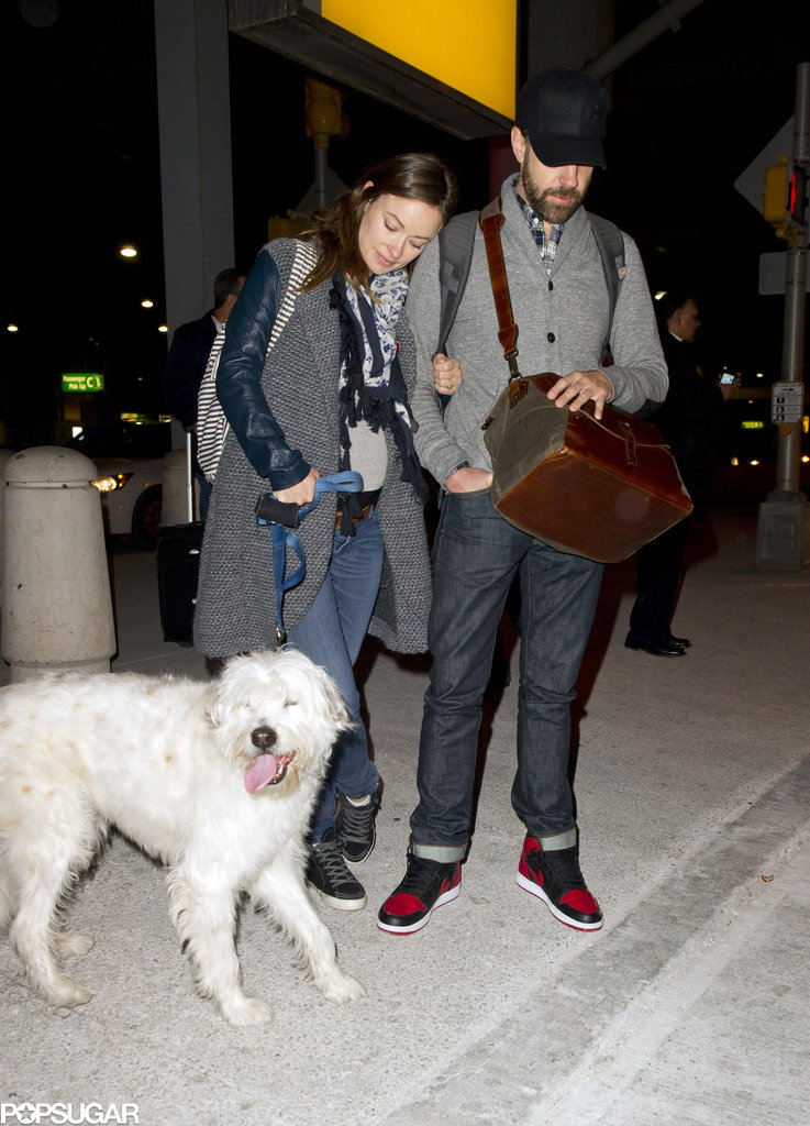 Olivia and Jason Pack Up With Paco After a Big Weekend