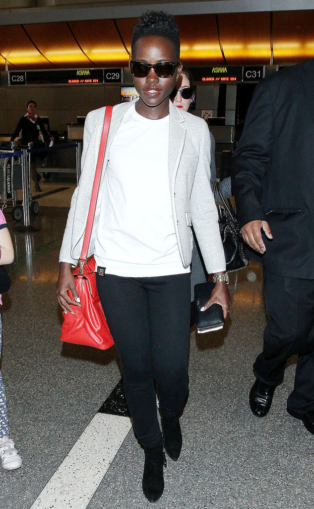 The only accessory that's better than an Oscar is the Miu Miu bag we saw Lupita Nyong'o carrying as she went through LAX.