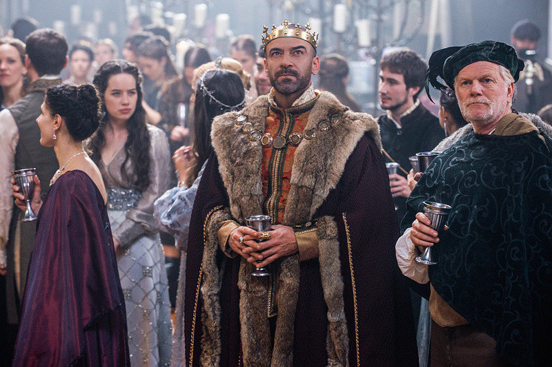 Alan Van Sprang as King Henry in Reign. | Will Mary Be a ...