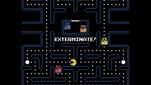In the Game of Pac-Man Doctor Who, YOU Exterminate the Daleks