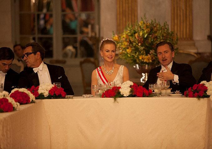 She sits at the royal table.