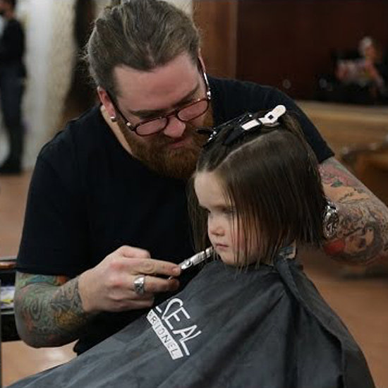Girl Donates Hair to Cancer Patients