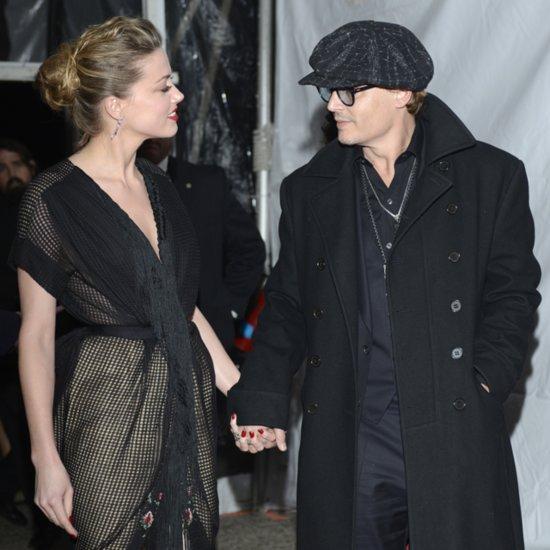 Johnny Depp & Amber Heard; South by Southwest Film Festival