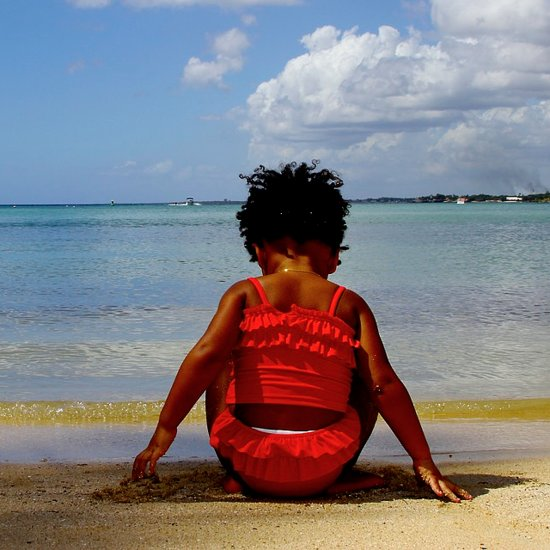 """Blue Ivy Saying """"Surfboard"""" 
