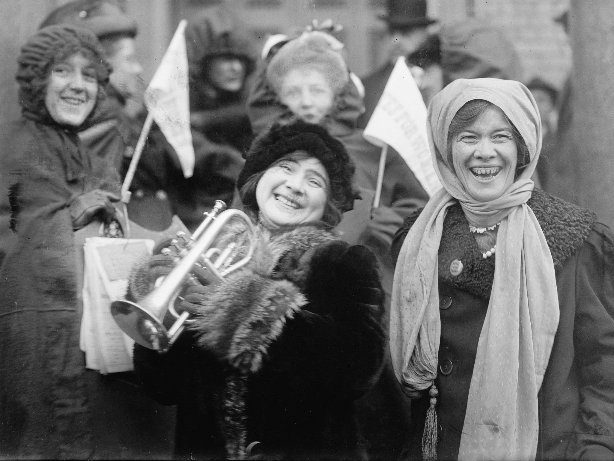 Women's Suffrage in US, 1913