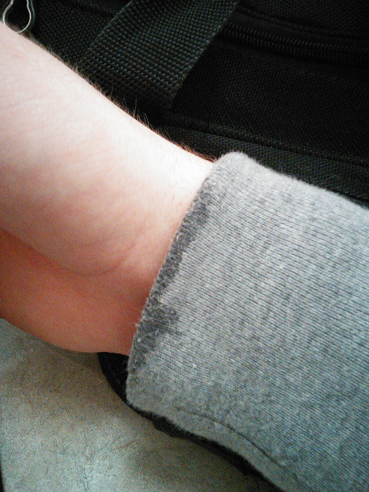 Washing Your Hands With a Sweater On