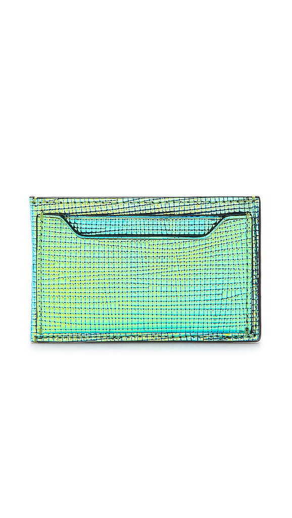 3.1 Phillip Lim Metallic Card Case
