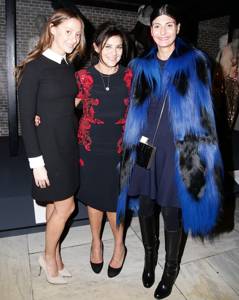 Marina Albright, Irene Albright, and Giovanna Battaglia