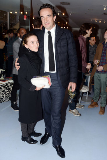 Mary-Kate and Olivier Make Their First Postengagement Appearance